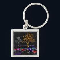Grove of Living Gems Keychain