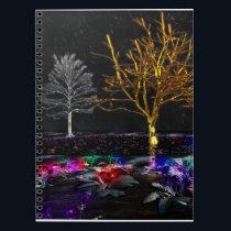Grove of Living Gems Notebook