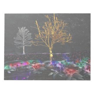 Grove of Living Gems Notepad