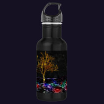 Grove of Living Gems Stainless Steel Water Bottle