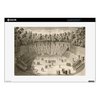 """Grove of the Salle du Bal, Versailles, from 'Les P 15"""" Laptop Decals"""
