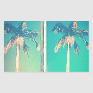Grove Palms Rectangular Sticker