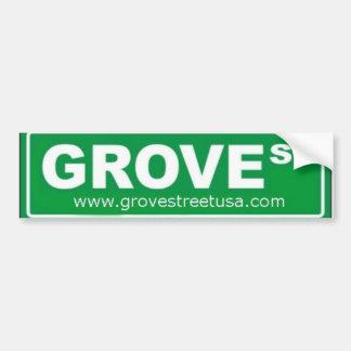 Grove Street Bumper Sticker