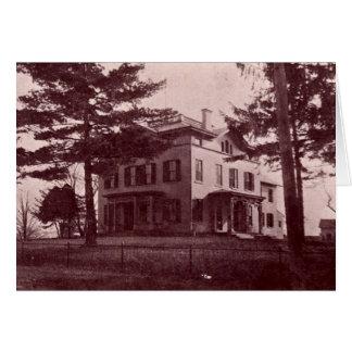 Groveport Ohio John S. Rarey Home Greeting Card