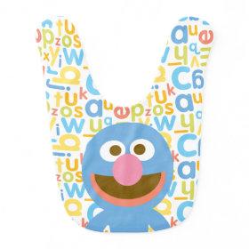 Grover Baby Baby Bib