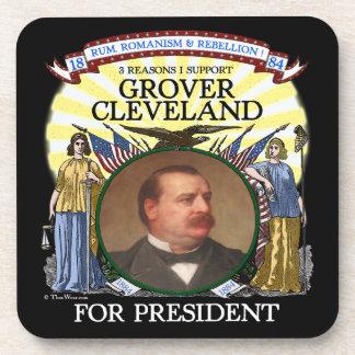 Grover Cleveland 1884 Campaign Coaster Set