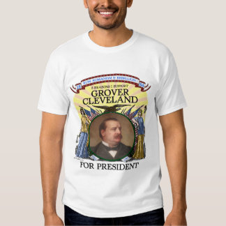 Grover Cleveland 1884 hombres de la camiseta de la Playera