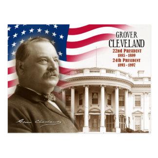 Grover Cleveland - 22do y 24to presidente de los E Postal