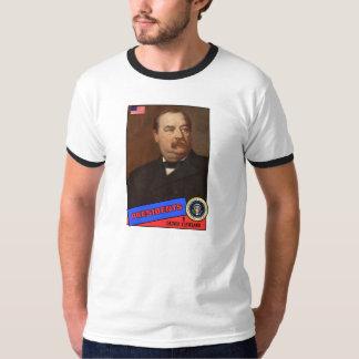 Grover Cleveland Baseball Card T-Shirt