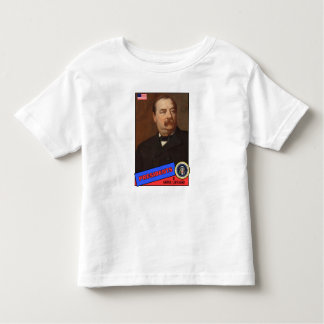 Grover Cleveland Baseball Card Toddler T-shirt
