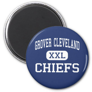 Grover Cleveland Chiefs Middle Caldwell Refrigerator Magnets