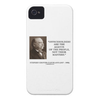 Grover Cleveland Officeholders Agents Of People iPhone 4 Case-Mate Case