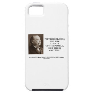 Grover Cleveland Officeholders Agents Of People iPhone SE/5/5s Case