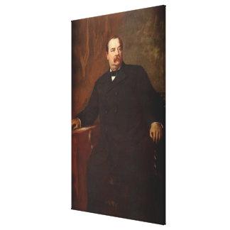 GROVER CLEVELAND Portrait by Eastman Johnson Print Canvas Prints