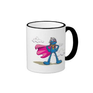 Grover estupendo taza de dos colores