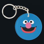 """Grover Face Art Keychain<br><div class=""""desc"""">Whose face is this? It?s the face art of Grover!        This item is recommended for ages 13 .&#169;  &#169;  2014 Sesame Workshop. www.sesamestreet.org</div>"""