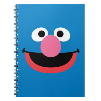 Grover Face Art Notebook