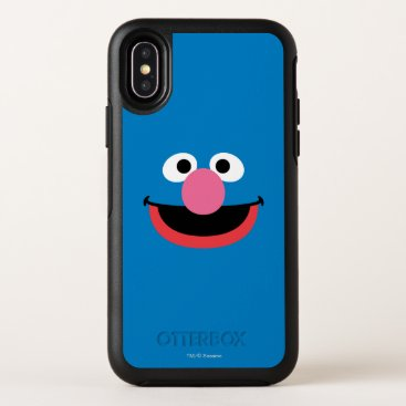 Grover Face Art OtterBox Symmetry iPhone X Case
