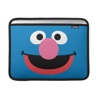 Grover Face Art Sleeves For MacBook Air