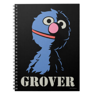 Grover Half Notebook