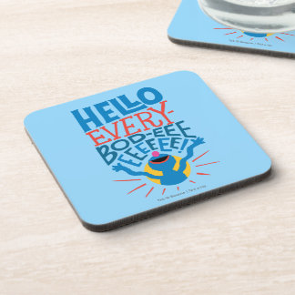 Grover Hello Beverage Coaster