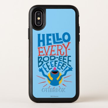 Grover Hello OtterBox Symmetry iPhone X Case