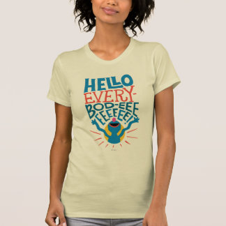 Grover hola camiseta