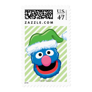 Grover Holiday Stamp