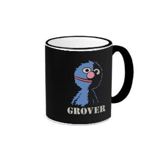 Grover medio taza de dos colores