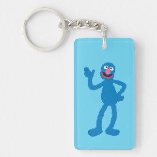 Grover Standing Double-Sided Rectangular Acrylic Keychain