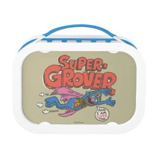 Grover Vintage Kids 1 Lunch Box at Zazzle