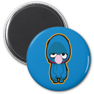 Grover Zombie 2 Inch Round Magnet