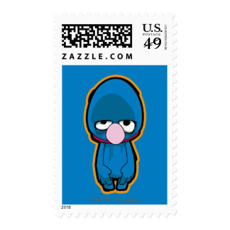 Grover Zombie Stamps