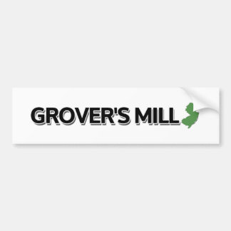 Grover's Mill, New Jersey Bumper Sticker