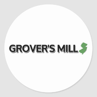 Grover's Mill, New Jersey Classic Round Sticker
