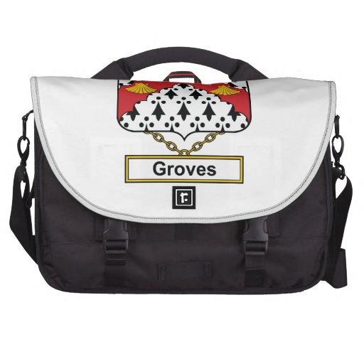 Groves Family Crest Computer Bag