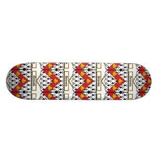 Groves Family Crest Custom Skateboard