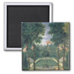 Groves of Versailles 2 Inch Square Magnet