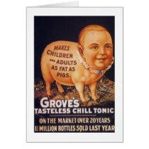 Grove's Tasteless Chill Tonic Card