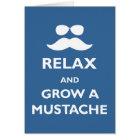 Grow a Mustache Card