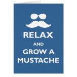 Grow a Mustache Cards