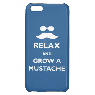 Grow a Mustache iPhone 5C Cover