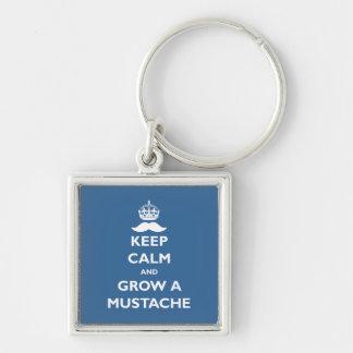 Grow a Mustache Keychain