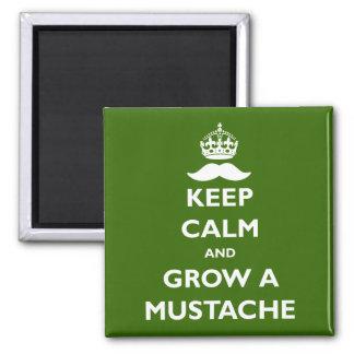 Grow a Mustache Magnet