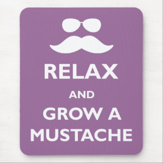 Grow a Mustache Mouse Pad