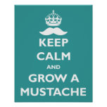 Grow a Mustache Posters