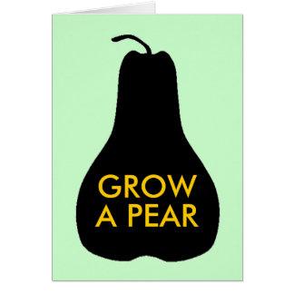 Grow a Pear Greeting Card