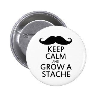 Grow a Stache Button