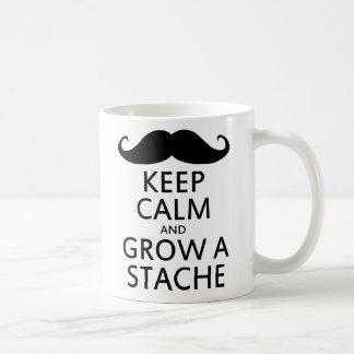 Grow a Stache Coffee Mug
