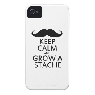 Grow a Stache iPhone 4 Cover